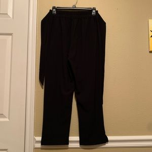 Forever 21 Black Dress Pants with Tie Waist